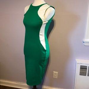 colorblock illusion dress Stella McCartney